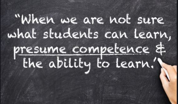Presuming Competence